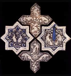 کاشی صلیب